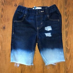 Distressed Cutoff Shorts Jeans Boys 4T Toddler